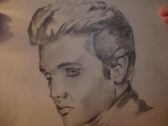 Elvis Presley by preston8